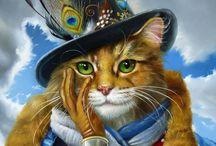 Cat get enough KATZ... Art❤♥ / by ♥♈Tealyn Tosh♈♥