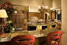 Tuscan Villa in Scottsdale Arizona / Interiors Remembered designed for this sprawling Tuscan Villa in the desert of Arizona to dazzling results