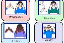 Makaton / Signs and information to build vocabulary in Makaton