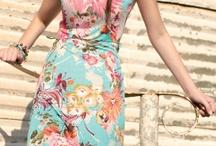 vestidos longos de viscose