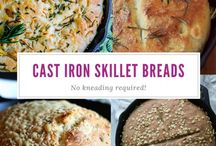 Skillet and One Pan Recipes / Skillet and one pan recipes are great for cutting down the dirty dishes.  These pans mean you can make a whole meal in one pan and includes pasta, chicken, potatoes and much more #skillet #onepan #easyrecipes #onepancooking