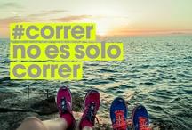 CORRER NO ES SOLO CORRER  ES VIDA / by Laura Flores Ceja