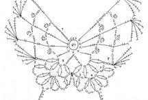 Horgolás diagram - Crochet diagram