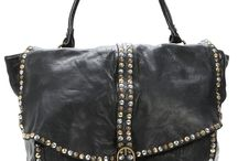 Borso - Bags / Love leather vintage handmade bags, beads, studs