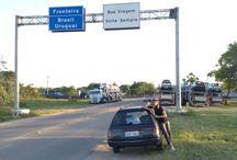 Uruguay pela banheira / Trip de SP a Montevideo passando por parte da costa brasileira e por toda a costa Uruguaia. Só tinhamos o destino final, o resto foi decidido na hora... Sem GPS, sem roteiro... Livres!!
