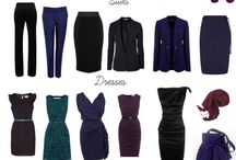 Deep winter Capsula Wardrobe
