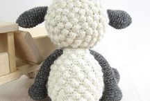 Knitted or crochet toys