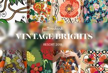 2018 Trends / Women's fashion and interior trends 2108 I Color palettess I Moodboards