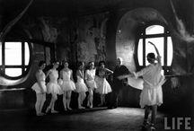Les petits rats de l'Opéra / Des photos des danseuse de l'Opéra Garnier.