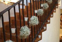 FLORES A CADA PASO / Nos encanta la vida sana y el ejercicio y por ello preferimos usar las escaleras antes que el ascensor, pero no nos gustan las escaleras frías y vacías.. por eso.. las llenamos de flores!!