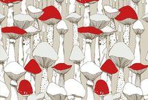 Textil/Ilustración / by Sarah Kutz