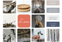 Blue Wren Barn Inspiration Boards / These are inspiration boards put together for clients and styled shoots that we have orchestrated. As part of our wedding styling service each client will get an inspiration board and plan detailing all of the finer elements of their wedding.