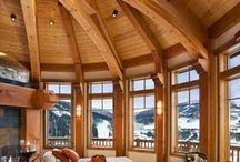 Sruby a interiéry ze dřeva