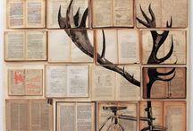 Декор из книг