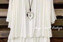 Lace n tunic tops