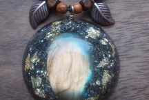 Handmade Orgone pendants / Handmade Orgonite, orgone jewelry by OrgonizeYourLife. Based on Wilhelm Reich, made with love & experience