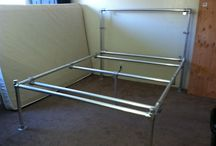 HOME - DIY - CONDUIT PIPE - BED / by Valerie Luthy