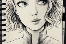 marvel drawings