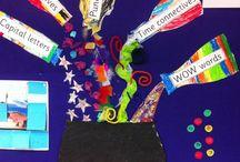 Literacy display ideas