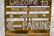 Wedding - Pallet ideas