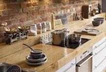 кухни и кирпичи