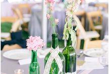 Reception Details / Wedding Reception decor inspiration photos from Shalese Danielle, a Richmond VA wedding photographer.