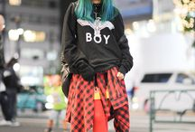Tokyo street style / 'Real life' images capturing the heart of Tokyo street style in all its glory. Menswear & Womenswear