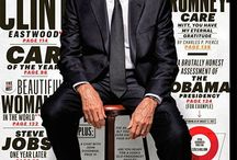 ESQUIRE Cover : Clint Eastwood / by salem younci