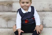 Isn't our royal geogre beautiful,,, / Bony little prince,,,,