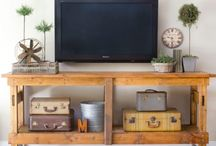 ENTERTAINMENT CENTER IDEAS / DIY Pallet Entertainment center Ideas Built In Entertainment center Plans Floating Entertainment center Decor Rustic Entertainment center with Barn Door Repurpose Farmhouse Entertainment center Modern Entertainment center With Fireplace Industrial Entertainment center with Living Room