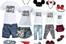 Disney World Outfits and Accessories / Fun clothing and accessory ideas for our yearly trips to Walt Disney World!