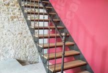 Escalier fer forgé