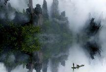 mgła/krajobraz