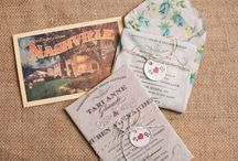 Wedding Invitations / Some unique ideas for a gorgeous wedding invitation. Helps you to tell your stories or just simply to suit your wedding theme.