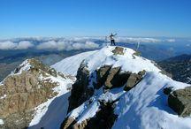 Paysages des Pyrénées / Paysages des montagnes des Pyrénées, en France et Espagne.