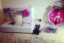 Inside my Sewing Room (= / Start sewing!  - TiKaa