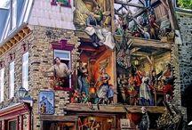 Gavl malerier - muralls