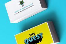Business Cards + Letterhead + Paper Templates