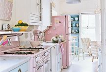 Soft and Vintage House / Welcome to this dream home that is soft vintage home decor.