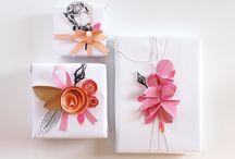 Wrapping ...pacchetti  / The Art of decorate packaging... L'arte di impacchettare / by Katia Di Maglie