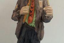 I Like Clowns...Don't You? / Emmitt Kelly, Jr. Clown Figurines