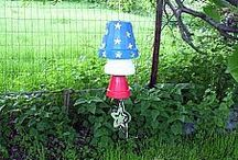Garden Wind Chime Ideas.