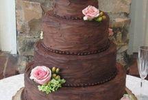 Chocolate Wedding Cake Ideas / Chocolate, Cakes, Cupcakes, wedding, tiered, white chocolate