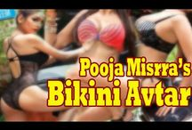 Pooja Misrra Sizzles in Transparent Swimsuit