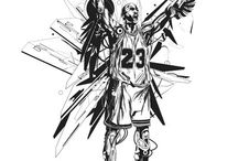 Basketball art. / Basketball art and stuff