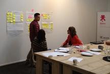 Sessies/workshops/seminars / Samen die top bereiken, samen die vlag vasthouden als we boven zijn, anders telt 't niet.  http://www.sterc.nl/over-sterc/werkwijze/