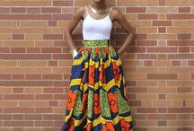 African Skirts