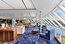The Viking Star Cruiseliner by Rottet Studio with carpet by Desso / Welcome Aboard the Viking Star Cruiseliner by Rottet Studio custom # carpet by Desso #interiors #interiordesign #projects #interiordesignmagazine #hospitality #marine carpets
