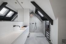 (Concrete) bathroom with black taps | SJARTEC