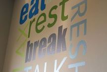 Staff Canteen Design / Clients do not come first, employee come first. If you take care of your employees, they will take care of the clients
